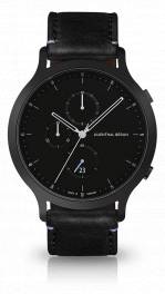 Chronograph - all-black-black