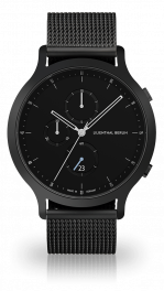 Chronograph - all-black mesh