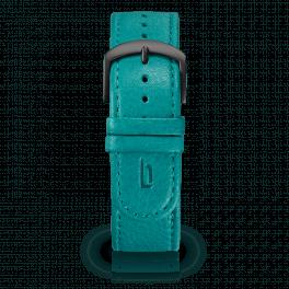 Leather strap - waikiki-black