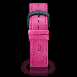 Leather strap - purple-blue