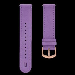 Leather strap - kakadu-rosegold