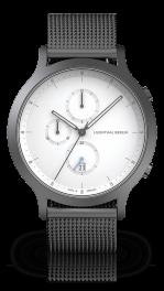 Chronograph - dark-silver-mesh